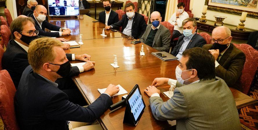 Facisc participa de encontro com governador que anuncia criação de Conselho de Governança para ampliar o diálogo com o setor produtivo