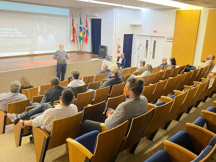 Evento Hoje, Plano de Assinatura de Energia Solar, Projeto Cultural e nova gerência do IMA: Temas da reunião de diretoria da ACIC